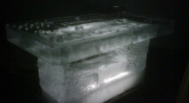 Kohlstock Eisbar