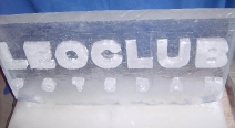 Leoclub-Logo auf Eis_8