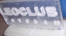 Leoclub-Logo auf Eis_9