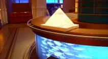 Eis-Pyramide