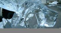Rentier Eisskulptur_7
